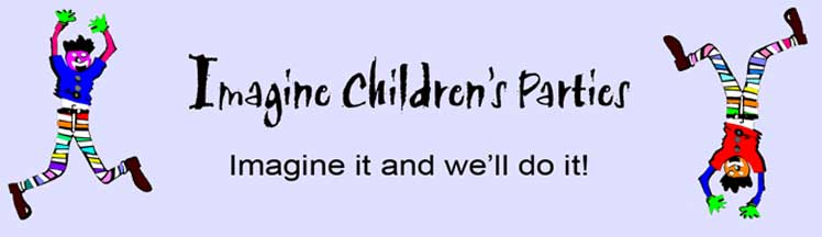 Imagine Children's Parties Link Image